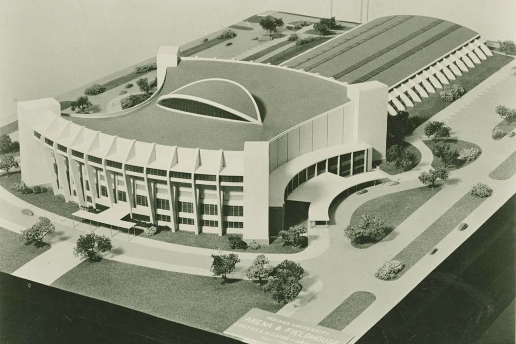 Architectural model of Assembly Hall