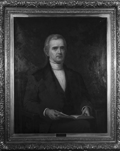 Andrew Wylie, first president of Indiana University. Photo courtesy of IU Archives.