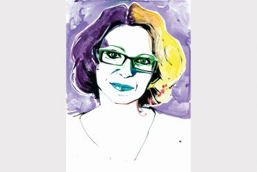 Meg Cabot illustration