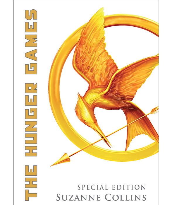 Book cover for The Hunger Games