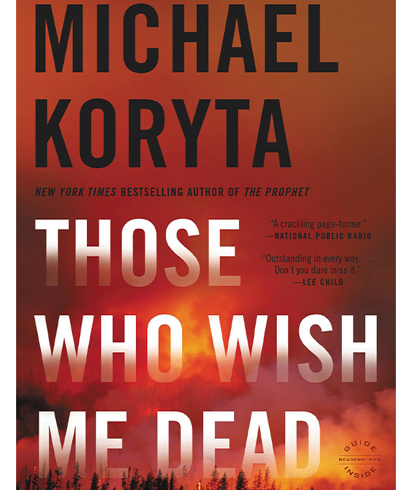 Book cover for Those Who Wish Me Dead