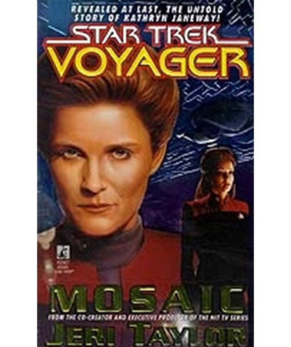 Book cover for Mosaic: Star Trek Voyager